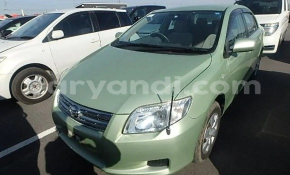 Buy Import Toyota Axio Green Car in Lusaka in Zambia