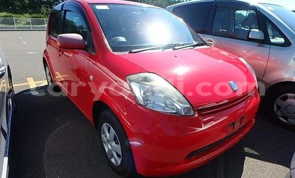 Buy Import Toyota Passo Red Car in Lusaka in Zambia