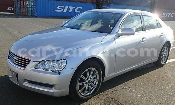 Buy Import Toyota Mark X Silver Car in Lusaka in Zambia
