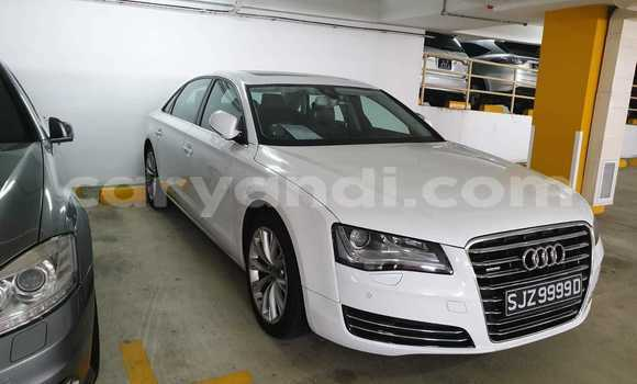 Buy Used Audi A8 White Car in Lusaka in Zambia