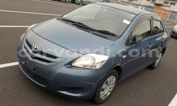 Buy Imported Toyota Belta Blue Car in Lusaka in Zambia