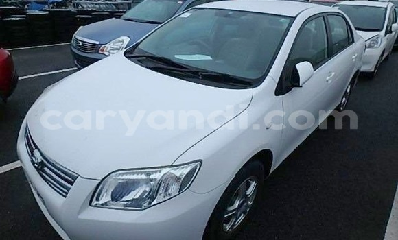Buy Import Toyota Axio White Car in Chipata in Zambia