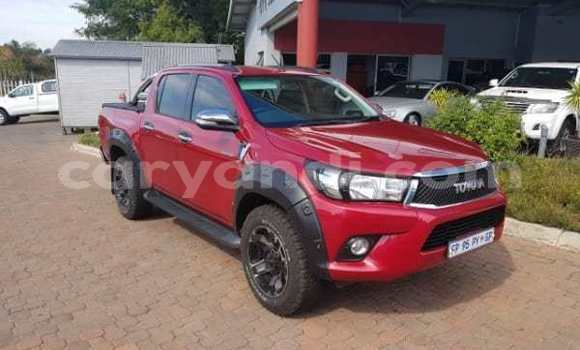 Buy Used Toyota Hilux Red Car in Kitwe in Zambia