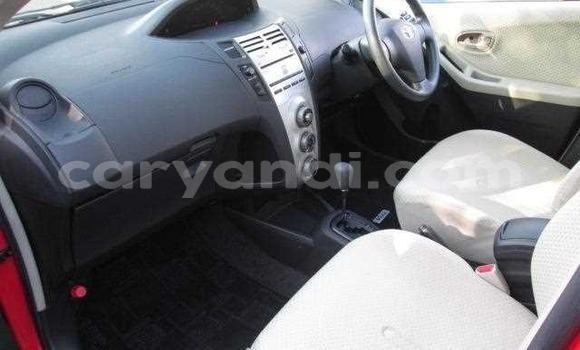 Nunua Ilio tumika Toyota Vitz Nyekundu Gari ndani ya Lusaka nchini Zambia