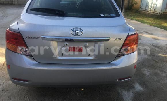 Buy New Toyota Allion Silver Car in Lusaka in Zambia