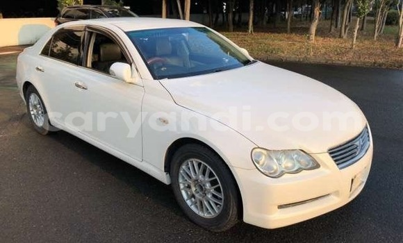 Buy Import Toyota Mark X White Car in Lusaka in Zambia