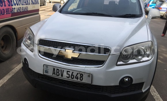 Buy Used Chevrolet Captiva White Car in Lusaka in Zambia
