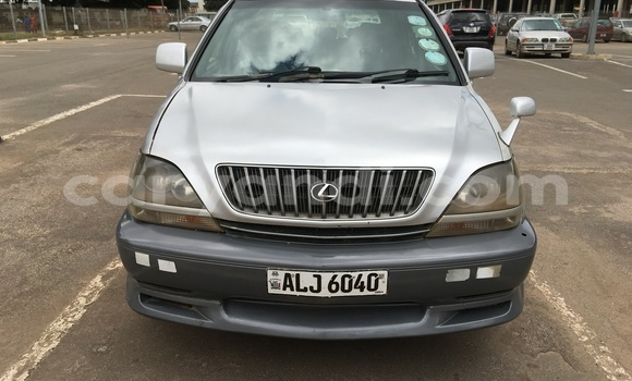 Buy Used Toyota Harrier Silver Car in Lusaka in Zambia