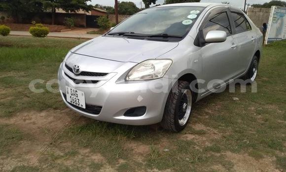 Buy Used Toyota Belta Silver Car in Lusaka in Zambia