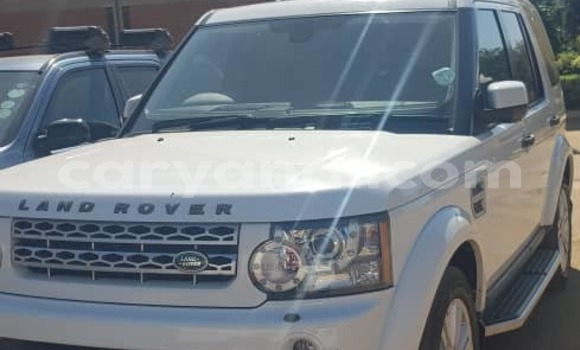 Buy Used Land Rover Discovery White Car in Lusaka in Zambia