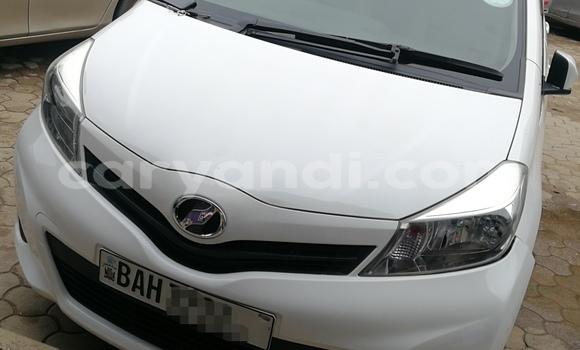 Buy Used Toyota Vitz White Car in Lusaka in Zambia