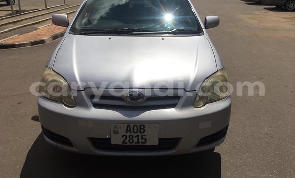 Buy Used Toyota Runx Silver Car in Lusaka in Zambia