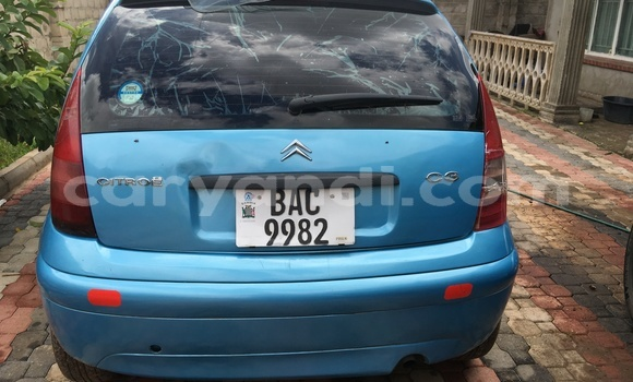 Buy Used Citroen C3 Blue Car in Lusaka in Zambia
