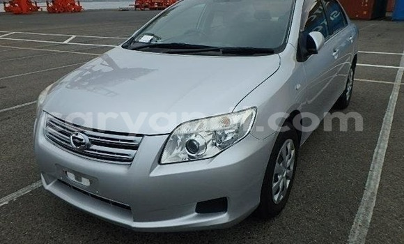 Buy Import Toyota Axio Silver Car in Lusaka in Zambia