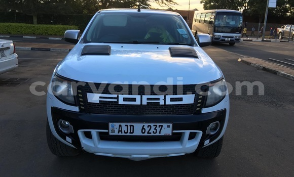 Buy Used Ford Ranger White Car in Lusaka in Zambia