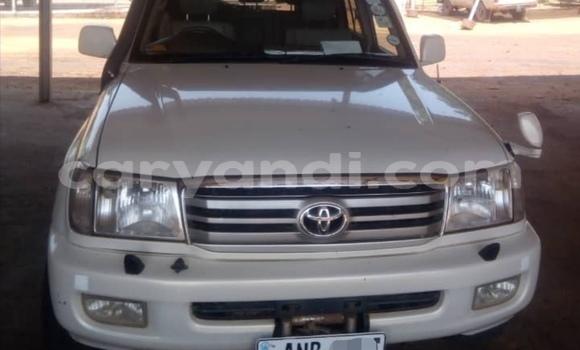 Buy Used Toyota Land Cruiser White Car in Lusaka in Zambia