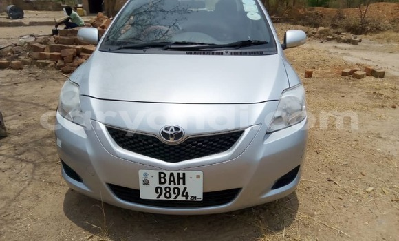 Buy Used Toyota Belta Silver Car in Lusaka in Zambia