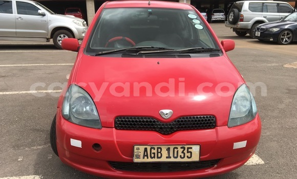Buy Used Toyota Vitz Red Car in Lusaka in Zambia