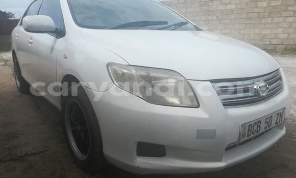 Buy Used Toyota Axio White Car in Lusaka in Zambia