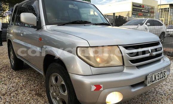 Buy Used Mitsubishi Pajero Junior Silver Car in Lusaka in Zambia