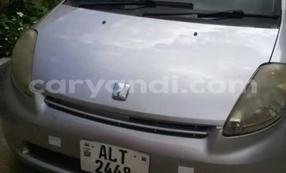 Buy Used Toyota Passo Silver Car in Lusaka in Zambia