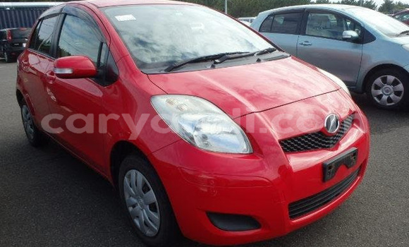 Buy Import Toyota Vitz Red Car in Lusaka in Zambia