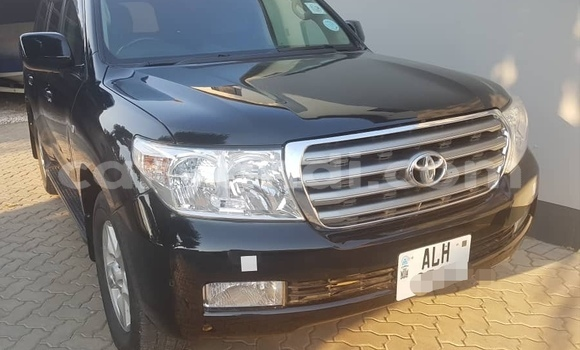 Buy Used Toyota Land Cruiser Black Car in Lusaka in Zambia