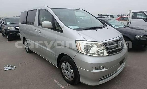 Buy Imported Toyota Alphard Silver Car in Lusaka in Zambia