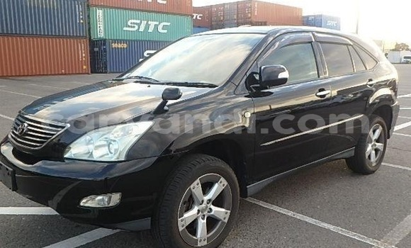 Buy Imported Toyota Harrier Black Car in Lusaka in Zambia