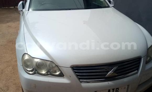 Buy Used Toyota Mark X White Car in Lusaka in Zambia