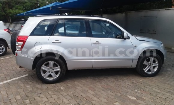 Buy Used Suzuki Grand Vitara Silver Car in Lusaka in Zambia