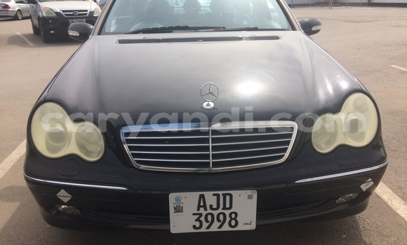 Buy Used Mercedes‒Benz C–Class Black Car in Lusaka in Zambia