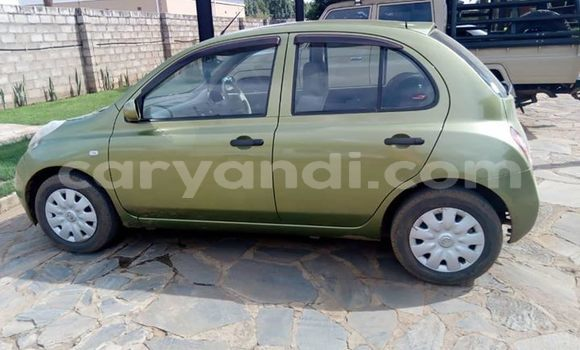 Buy Used Nissan March Green Car in Lusaka in Zambia