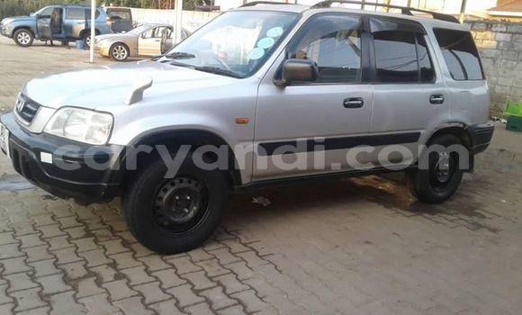 Buy Used Honda CR-V Silver Car in Lusaka in Zambia
