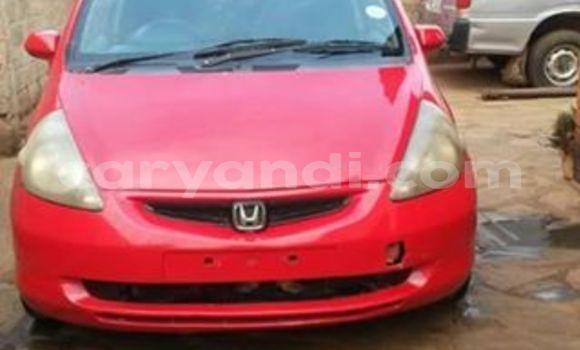 Buy Used Honda Fit Red Car in Lusaka in Zambia