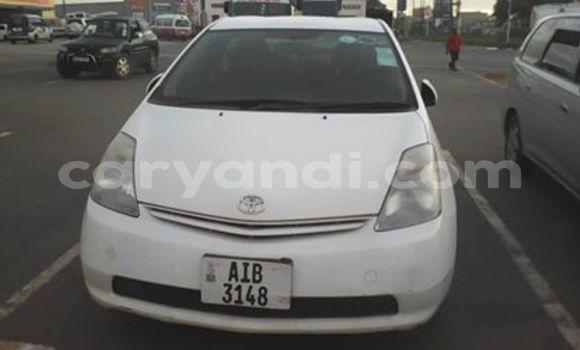 Buy Used Toyota Prius White Car in Lusaka in Zambia