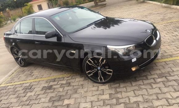 Buy Used BMW 5–Series Black Car in Lusaka in Zambia