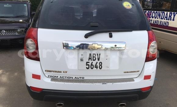 Buy Used Chevrolet Captiva White Car in Lusaka in Zambia