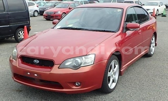 Buy Import Subaru Legacy Red Car in Lusaka in Zambia