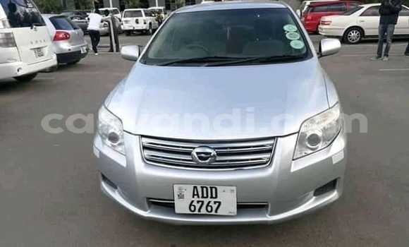 Buy Used Toyota Axio Silver Car in Lusaka in Zambia