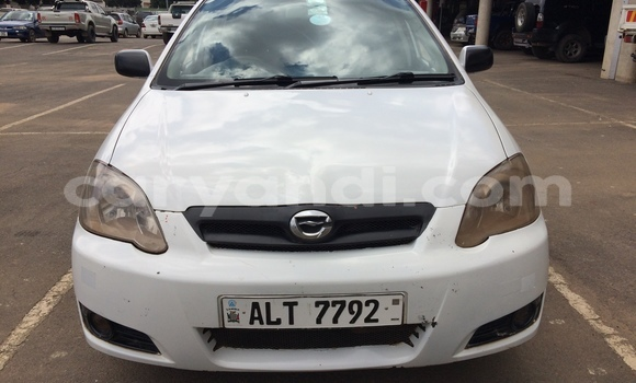 Buy Used Toyota Runx White Car in Lusaka in Zambia