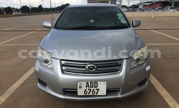 Buy Used Toyota Axio Silver Car in Lusaka in Zambia