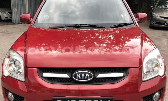 Buy Used Kia Sportage Red Car in Lusaka in Zambia