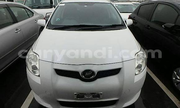Buy Used Toyota Auris White Car in Lusaka in Zambia