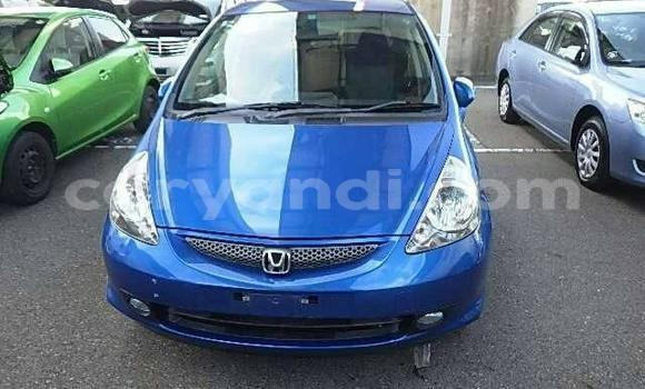 Buy Used Honda Fit Blue Car in Lusaka in Zambia