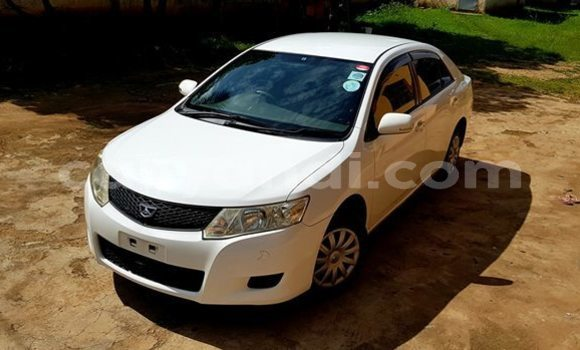 Buy Used Toyota Allion White Car in Lusaka in Zambia