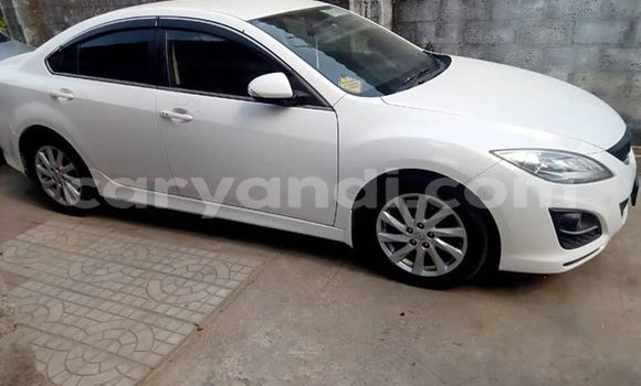 Buy Used Mazda Mazda 6 White Car in Lusaka in Zambia