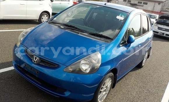 Buy Import Honda FIT Blue Car in Lusaka in Zambia