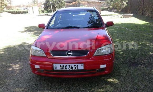 Buy Used Opel Astra Red Car in Chingola in Zambia