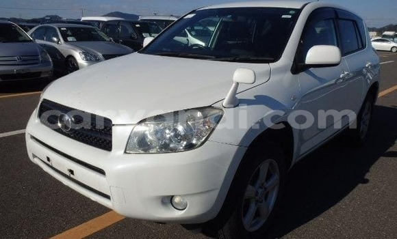 Buy Import Toyota RAV4 White Car in Lusaka in Zambia